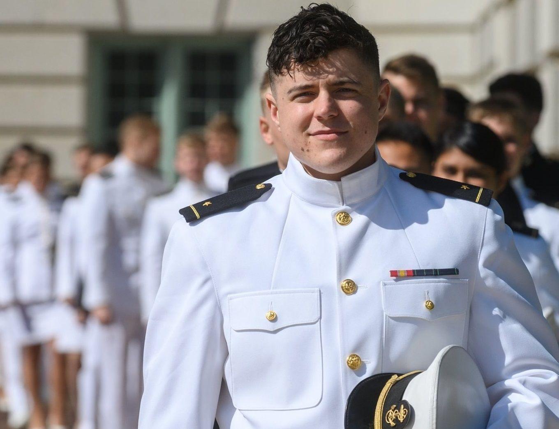 Commitment To Serve - Ensign Regan Kibby